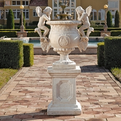 Versailles%20cherub%20urn%20and%20plinth